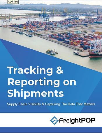 Tracking & Reporting on Shipments